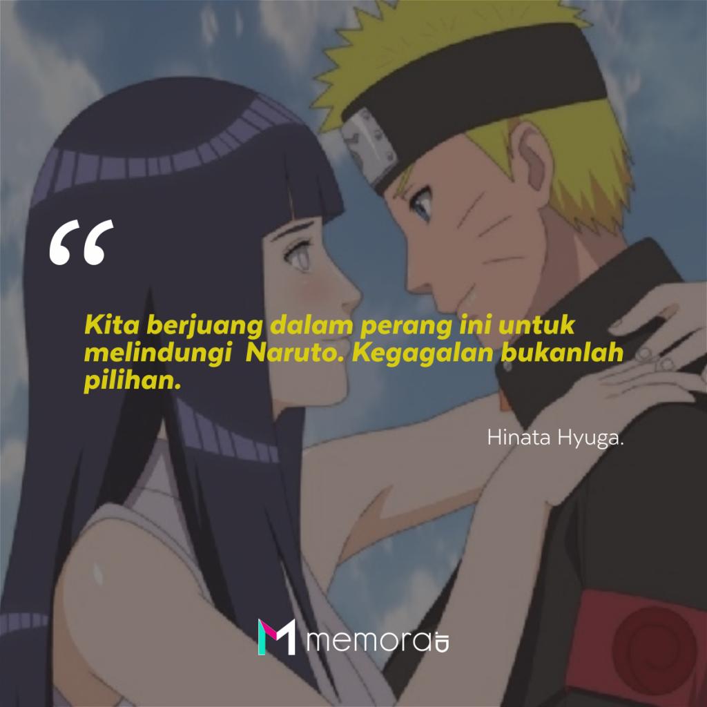 Kata Kata Cinta Hinata Kepada Naruto