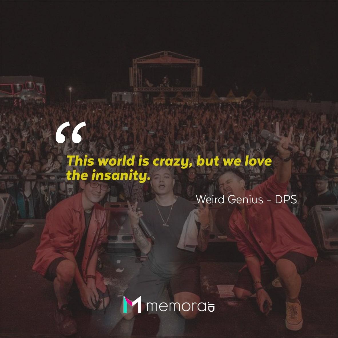 Kata-kata Mutiara Weird Genius