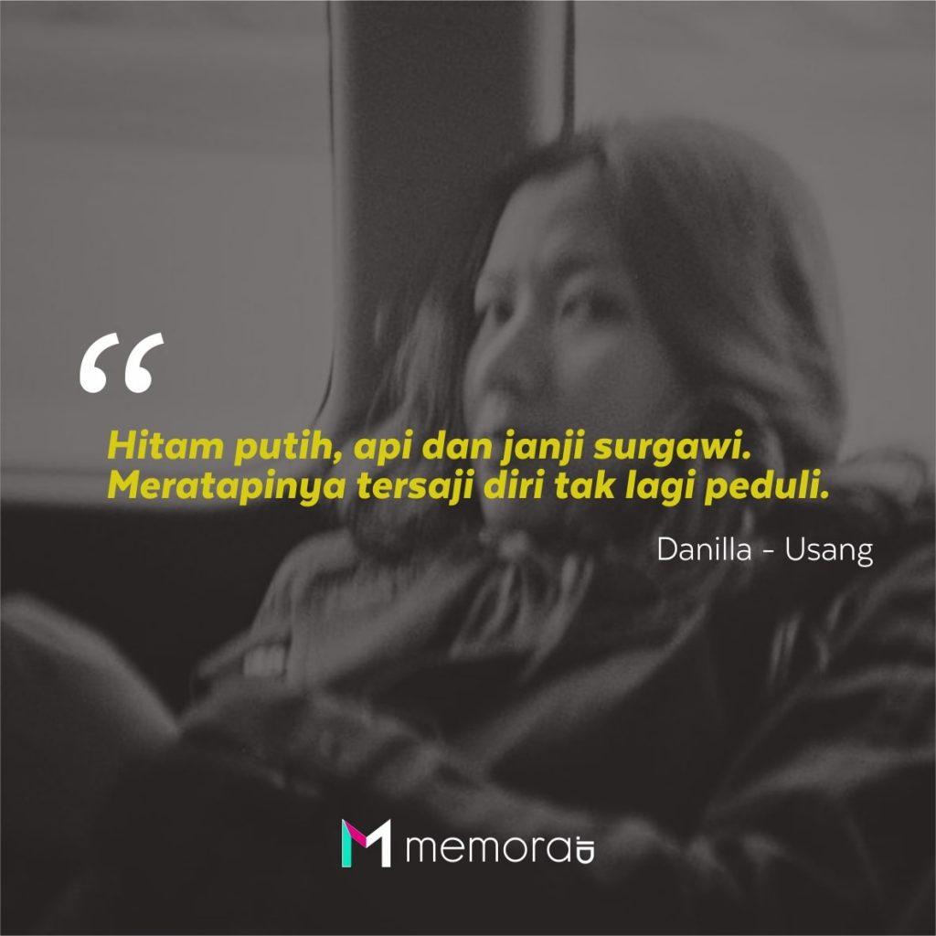 Kata-kata Mutiara Danilla Riyadi