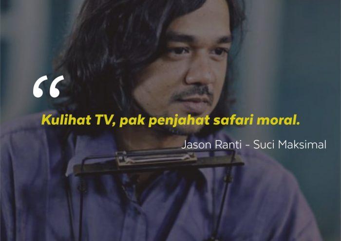 Kata-kata Mutiara Jason Ranti