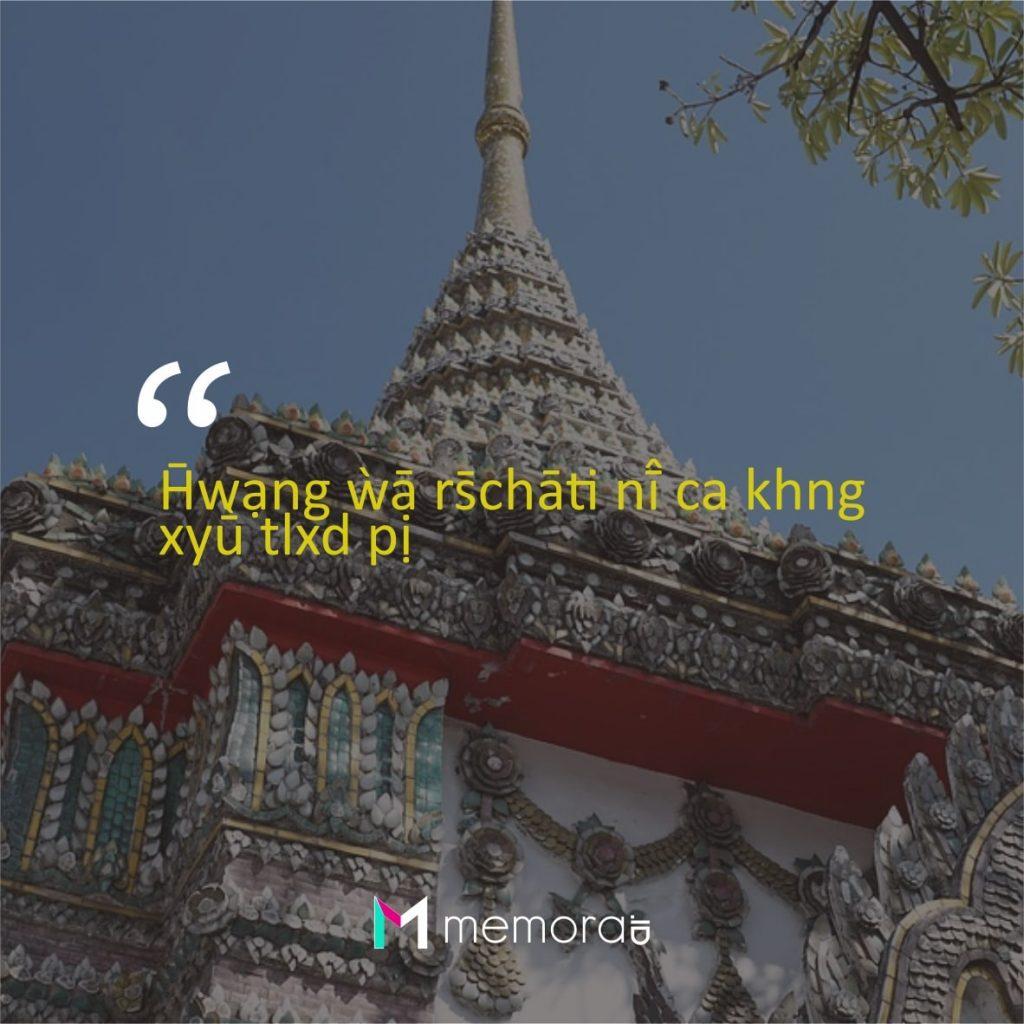 Kata-kata Cinta Romantis Bahasa Thailand