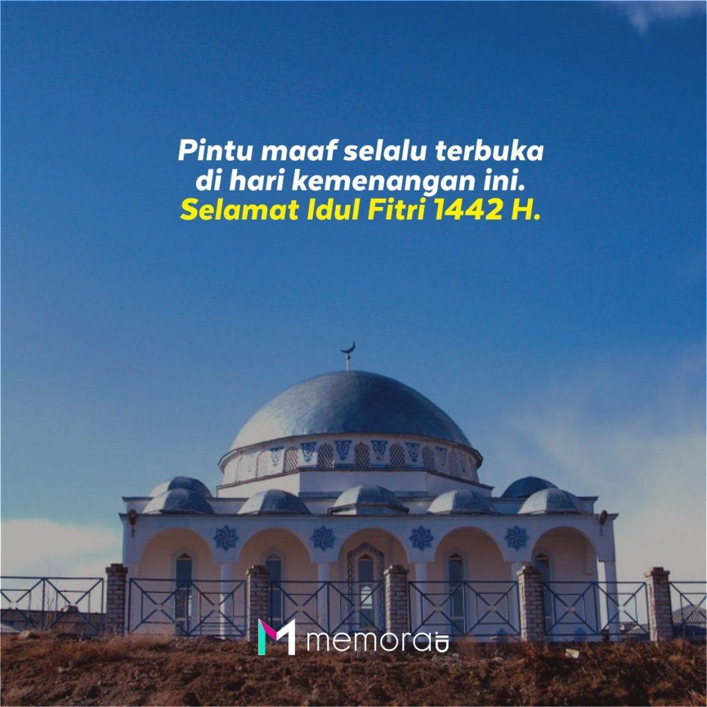 Poster Selamat Idul Fitri 1442 H
