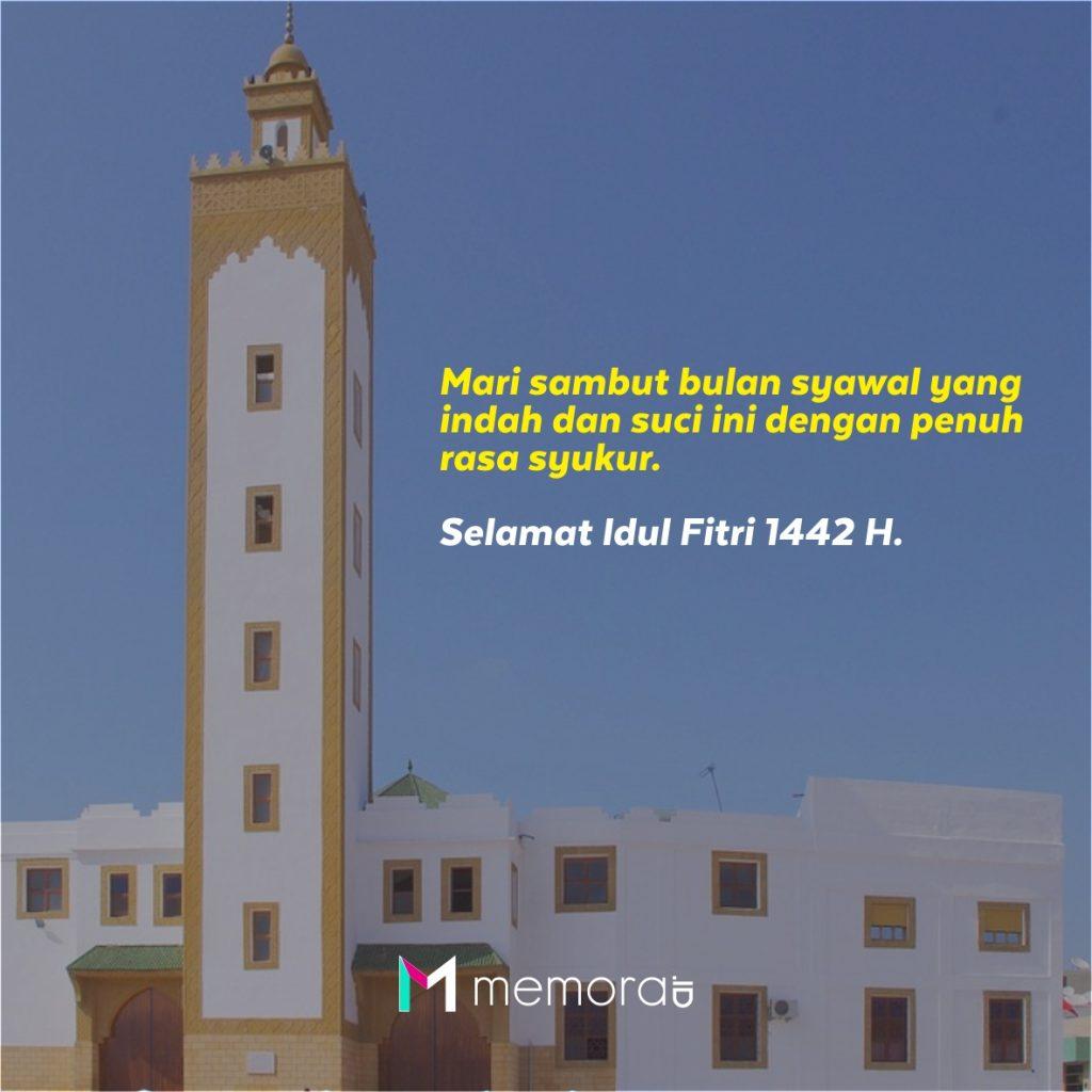 kata ucapan selamat Idul Fitri 1442 H
