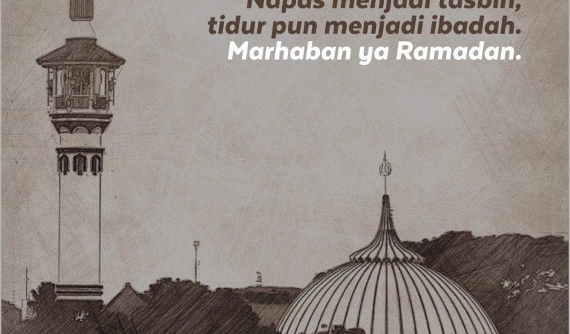 Poster Kata Bergambar Ucapan Selamat Puasa Ramadhan