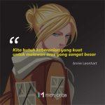 Kata-Kata Mutiara Annie Leonhart