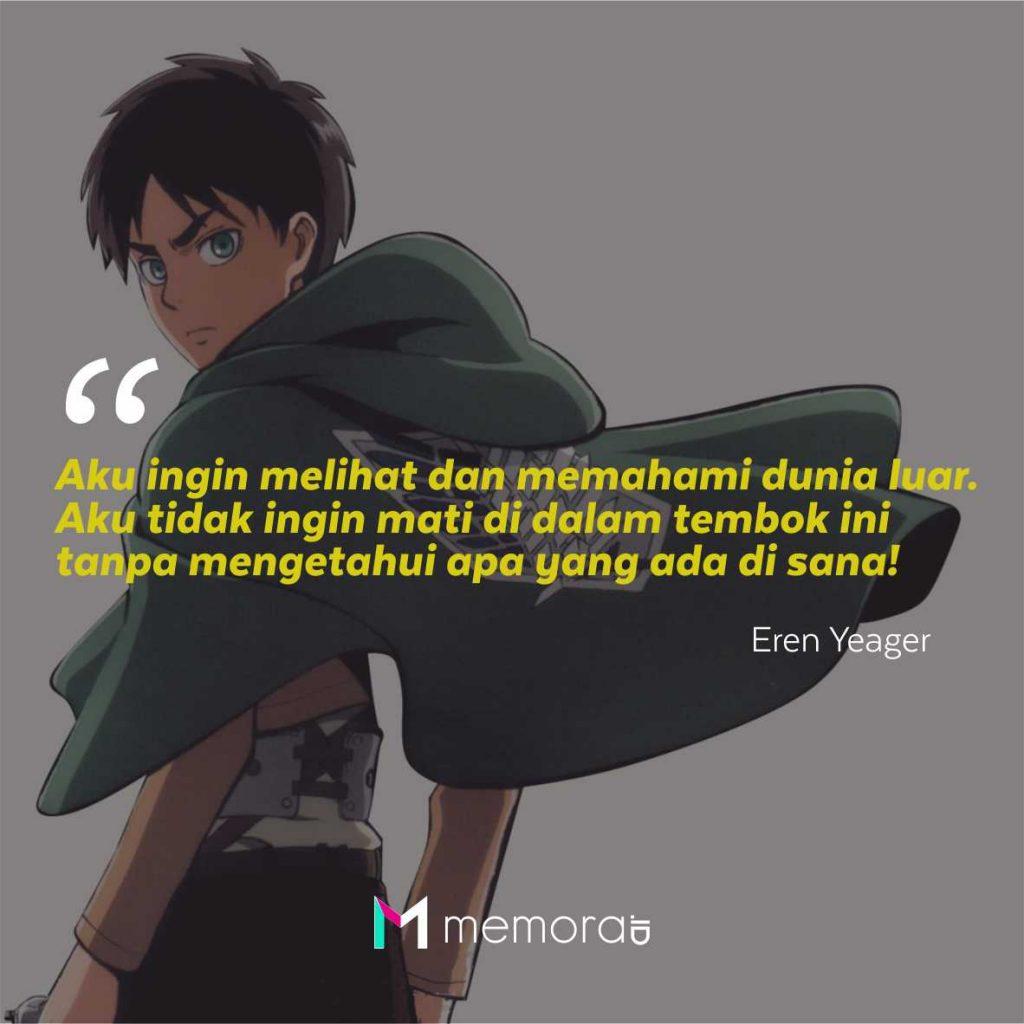 Kata-Kata Mutiara Eren Yeager