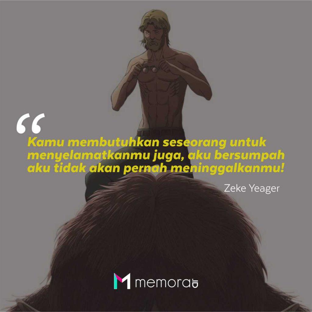 Kata-Kata Mutiara Zeke Yeager