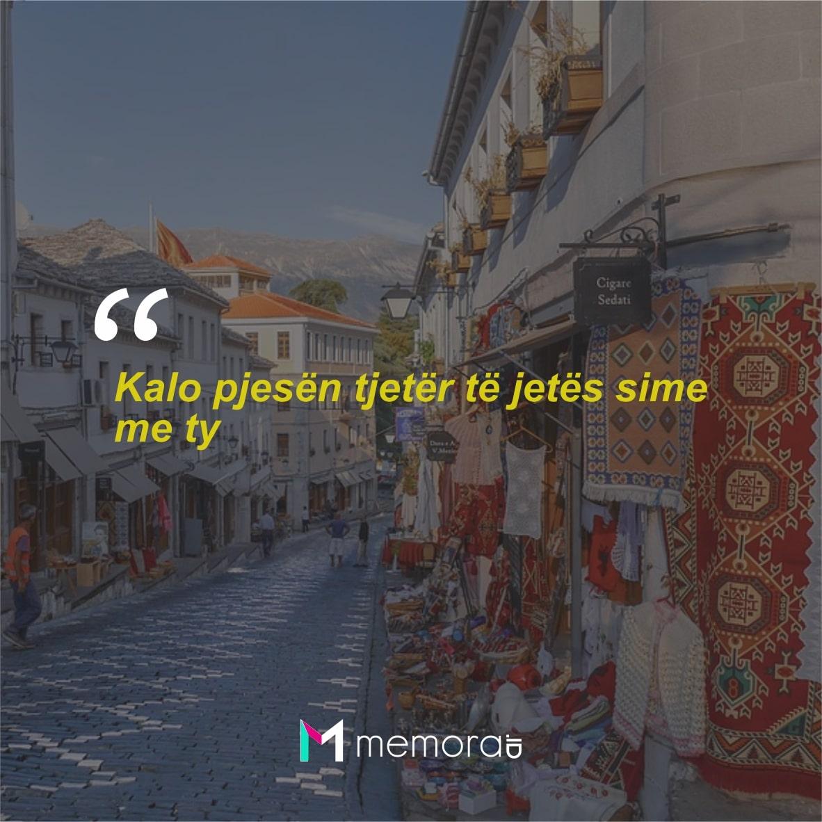 Kata-kata Cinta Romantis Bahasa Albania
