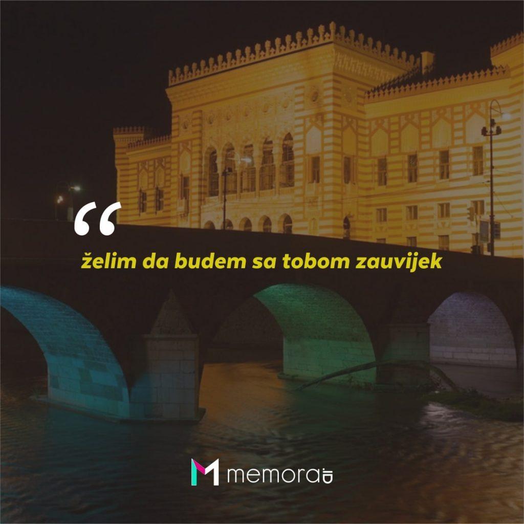 Kata-kata Cinta Romantis Bahasa Bosnia