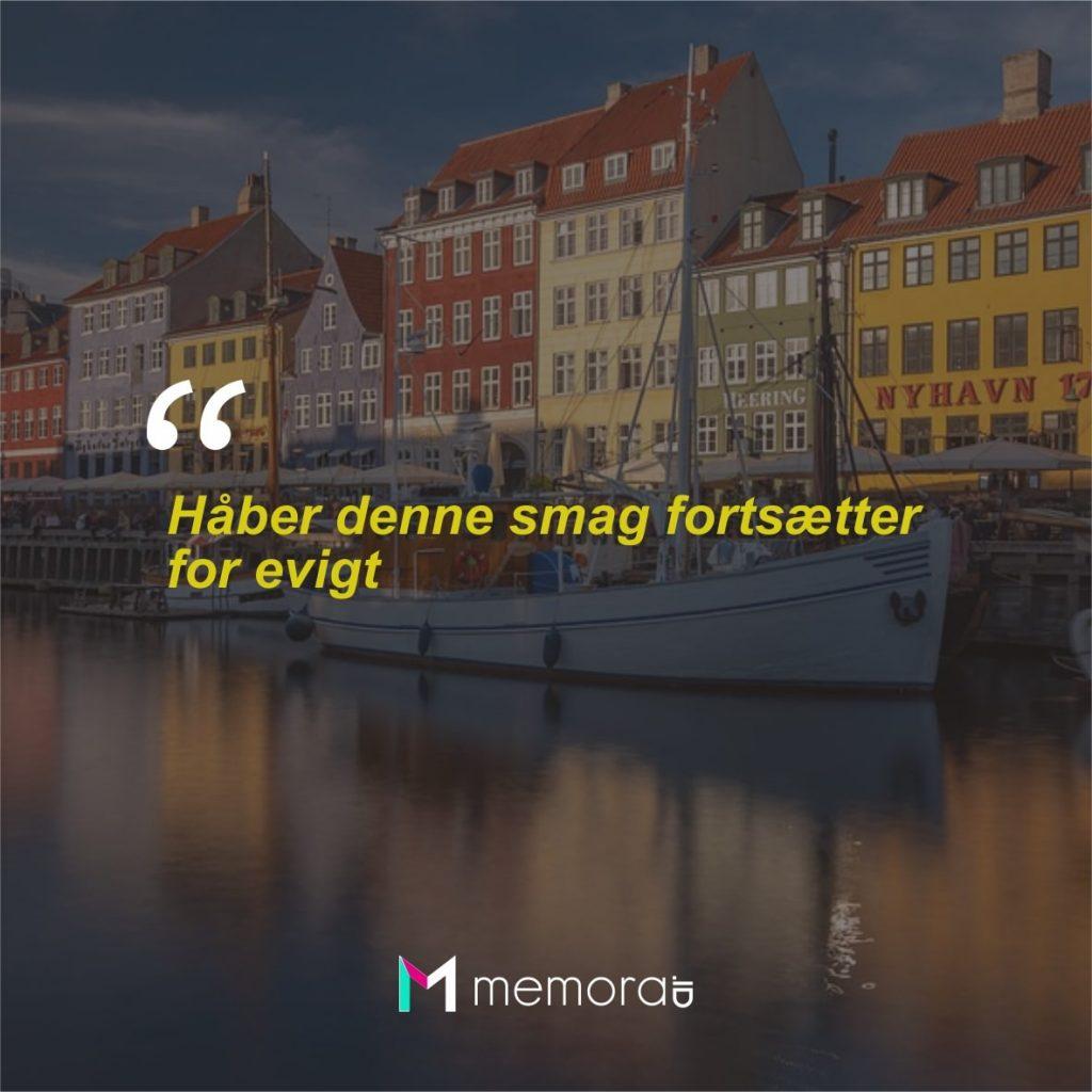 Kata-kata Cinta Romantis Bahasa Denmark