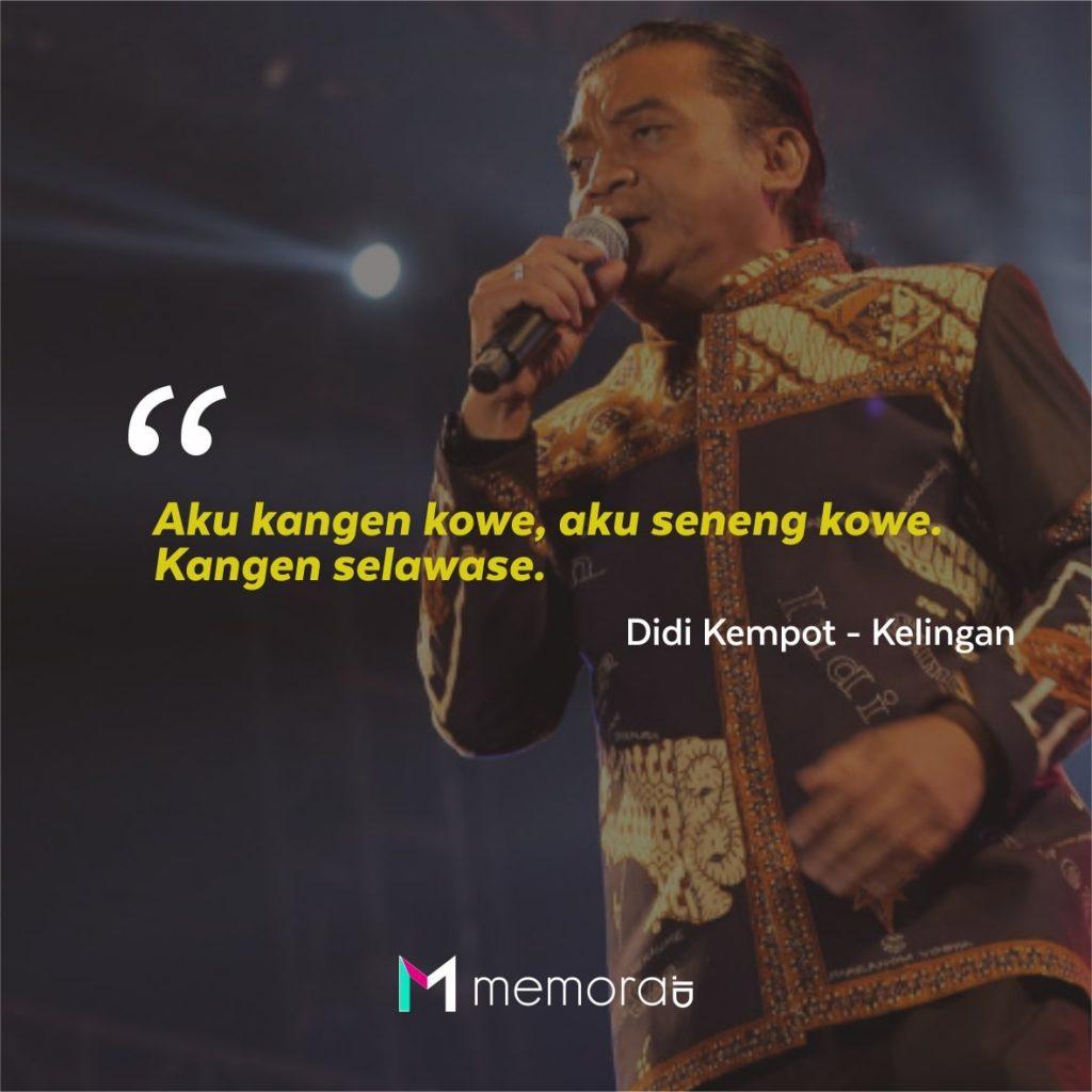 Kata Quotes Mutiara Didi Kempot