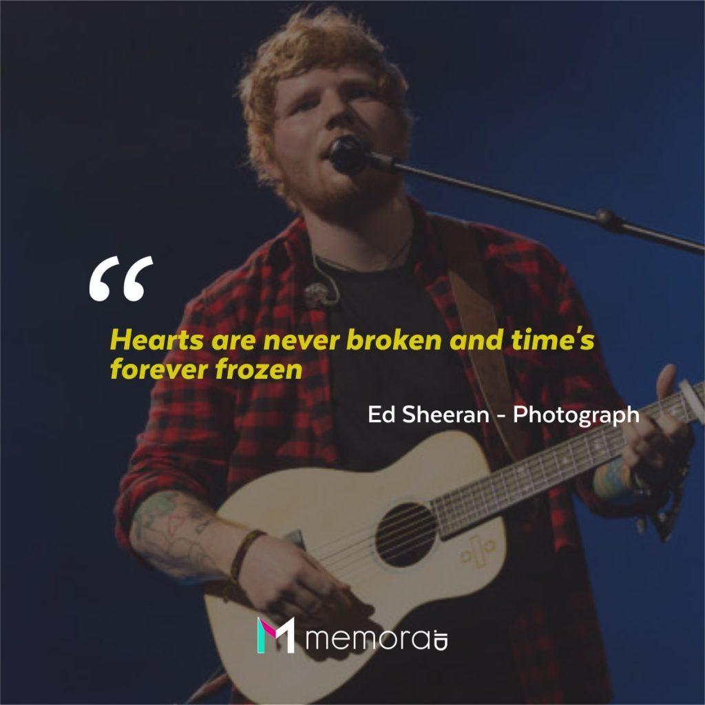 Quotes Kata Mutiara Ed Sheeran