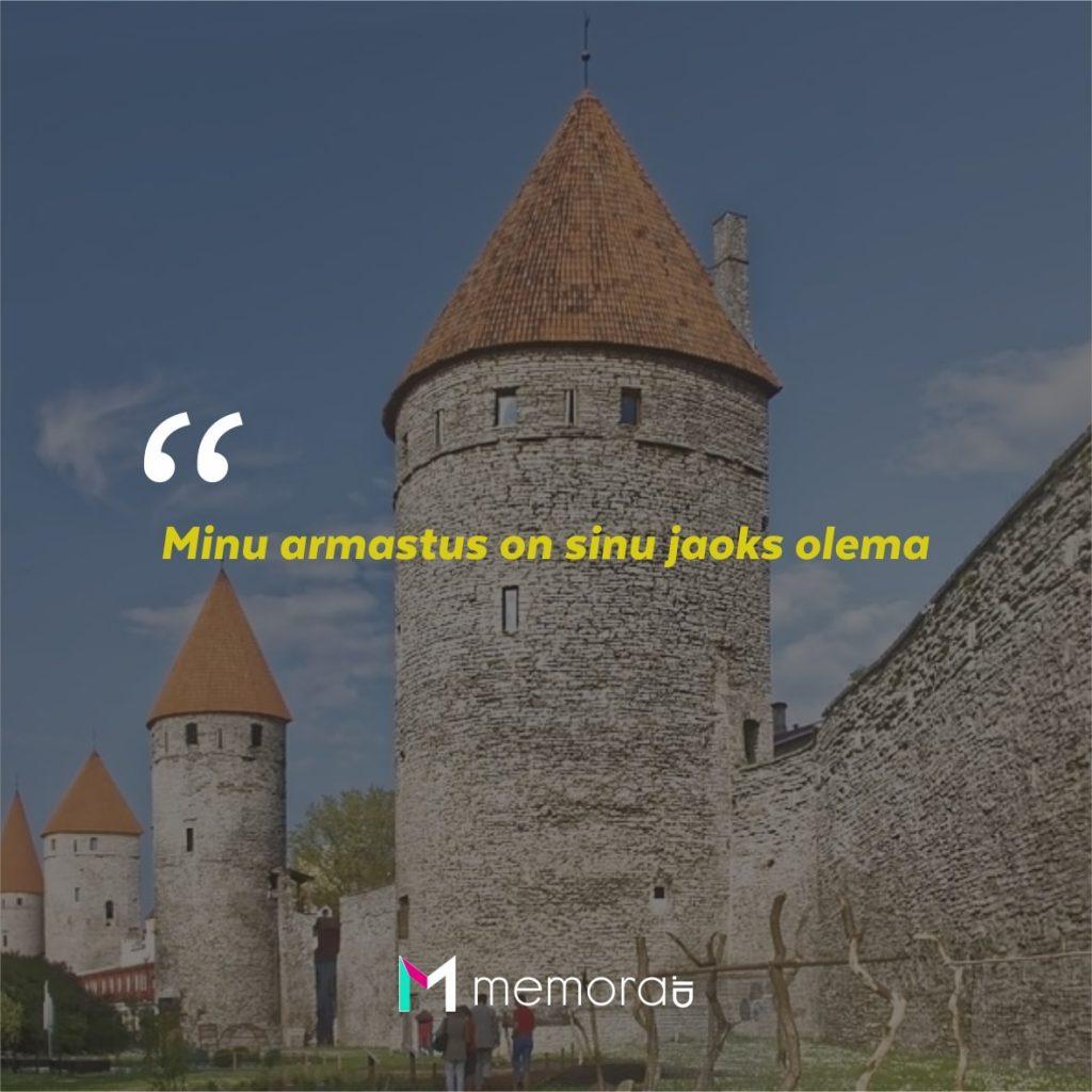 Kata-kata Cinta Romantis Bahasa Estonia