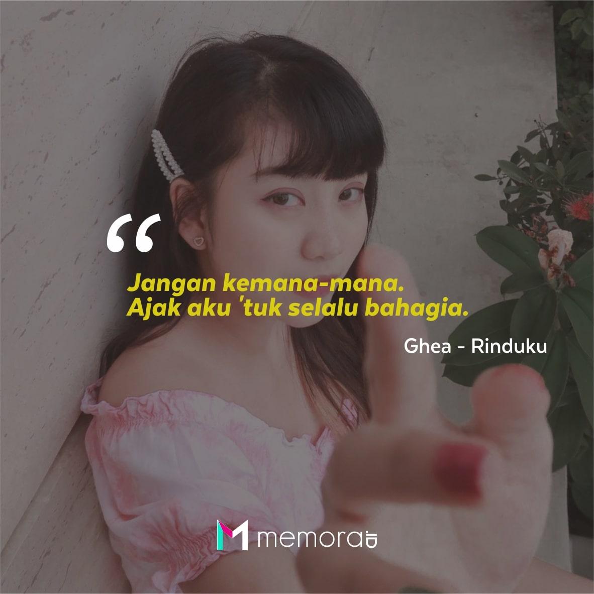 Kata-kata Mutiara Ghea Indrawari