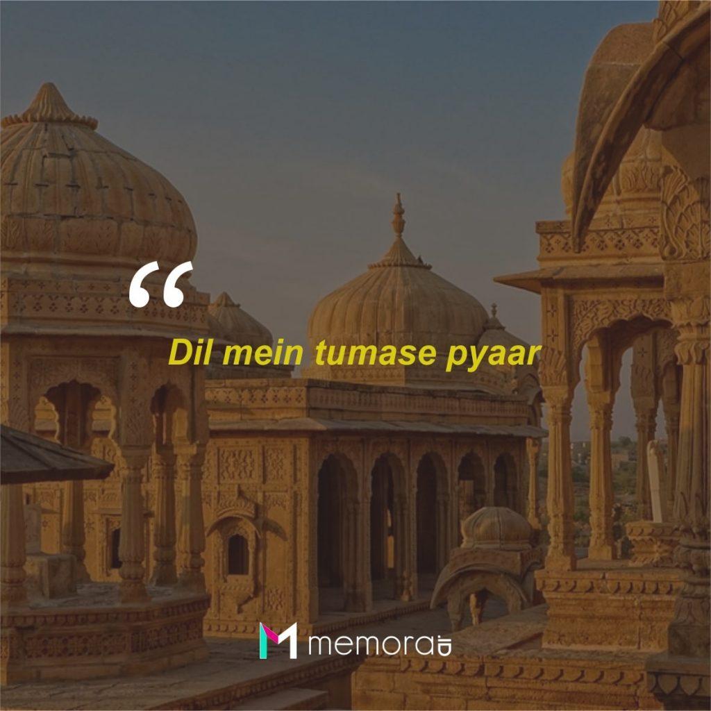 Kata-kata Cinta Romantis Bahasa Hindi India