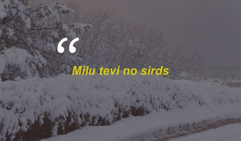 Kata-kata Cinta Romantis Bahasa Lithuania