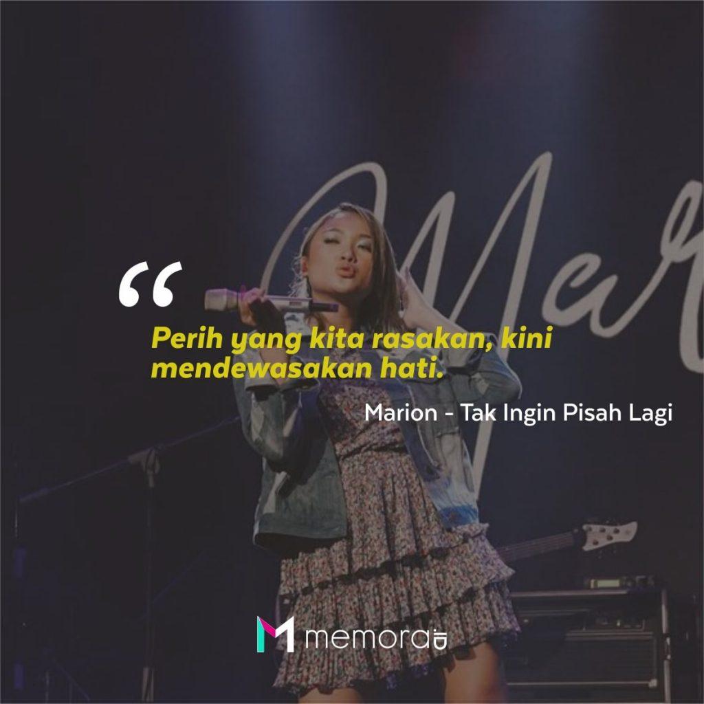 Kata-kata Mutiara Marion Jola