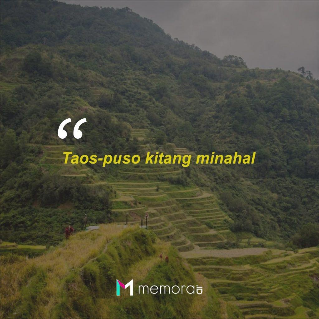 Kata-kata Cinta Romantis Bahasa Tagalog Filipina