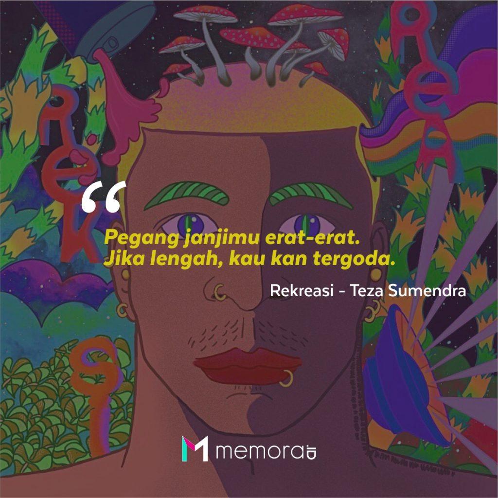 Kata-kata Mutiara Teza Sumendra