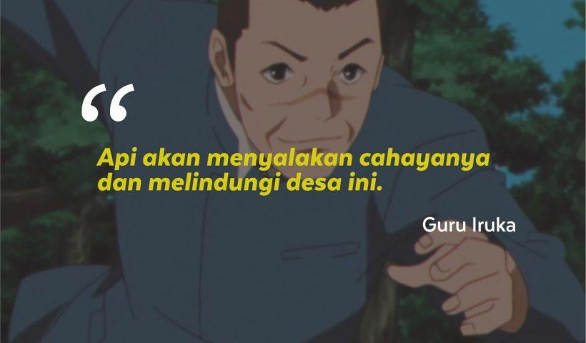 Kata-kata Mutiara Guru Iruka