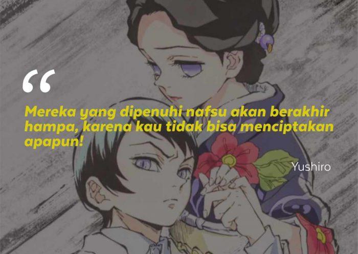 Kata-Kata Mutiara Tamayo & Yushiro