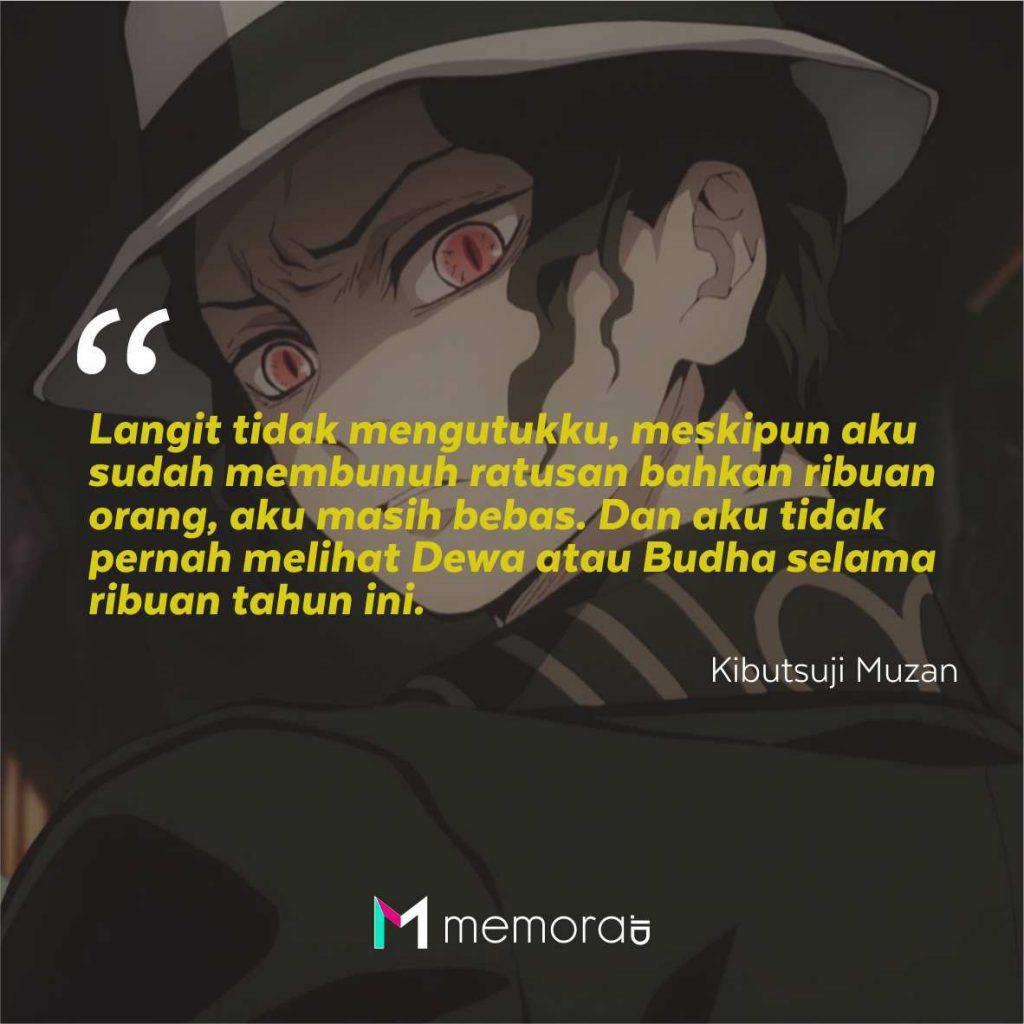 Kata-Kata Mutiara Kibutsuji Muzan