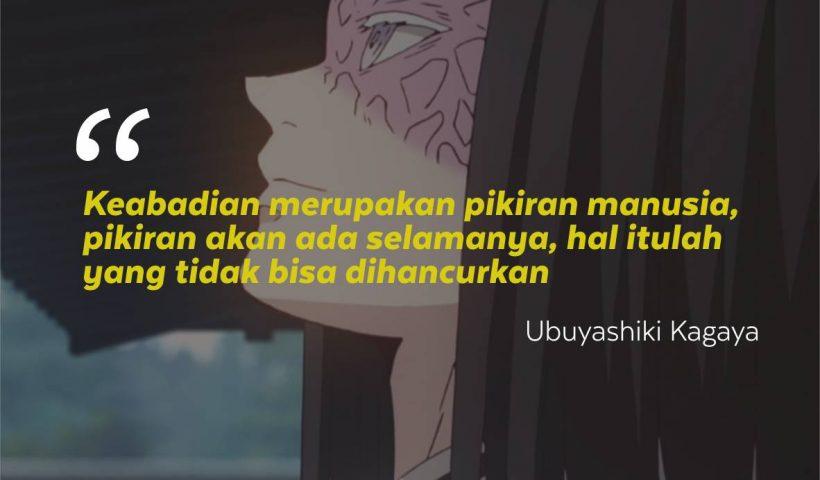 Kata-Kata Mutiara Ubuyashiki Kagaya