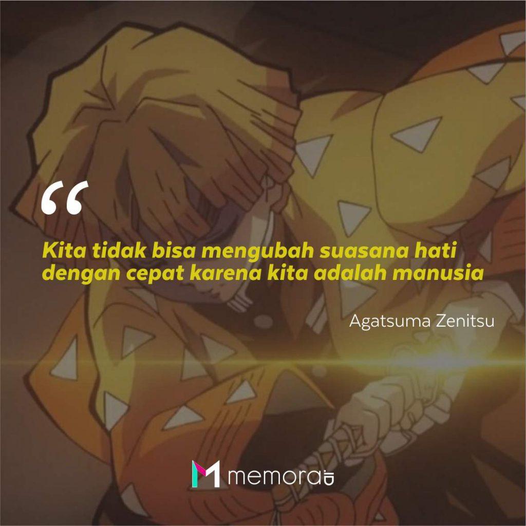 Kata-Kata Mutiara Agatsuma Zenitsu
