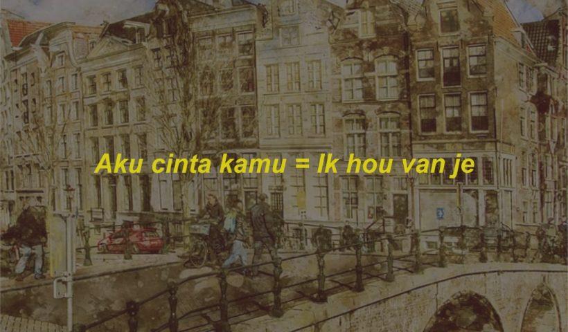 Kosa Kata Bahasa Belanda