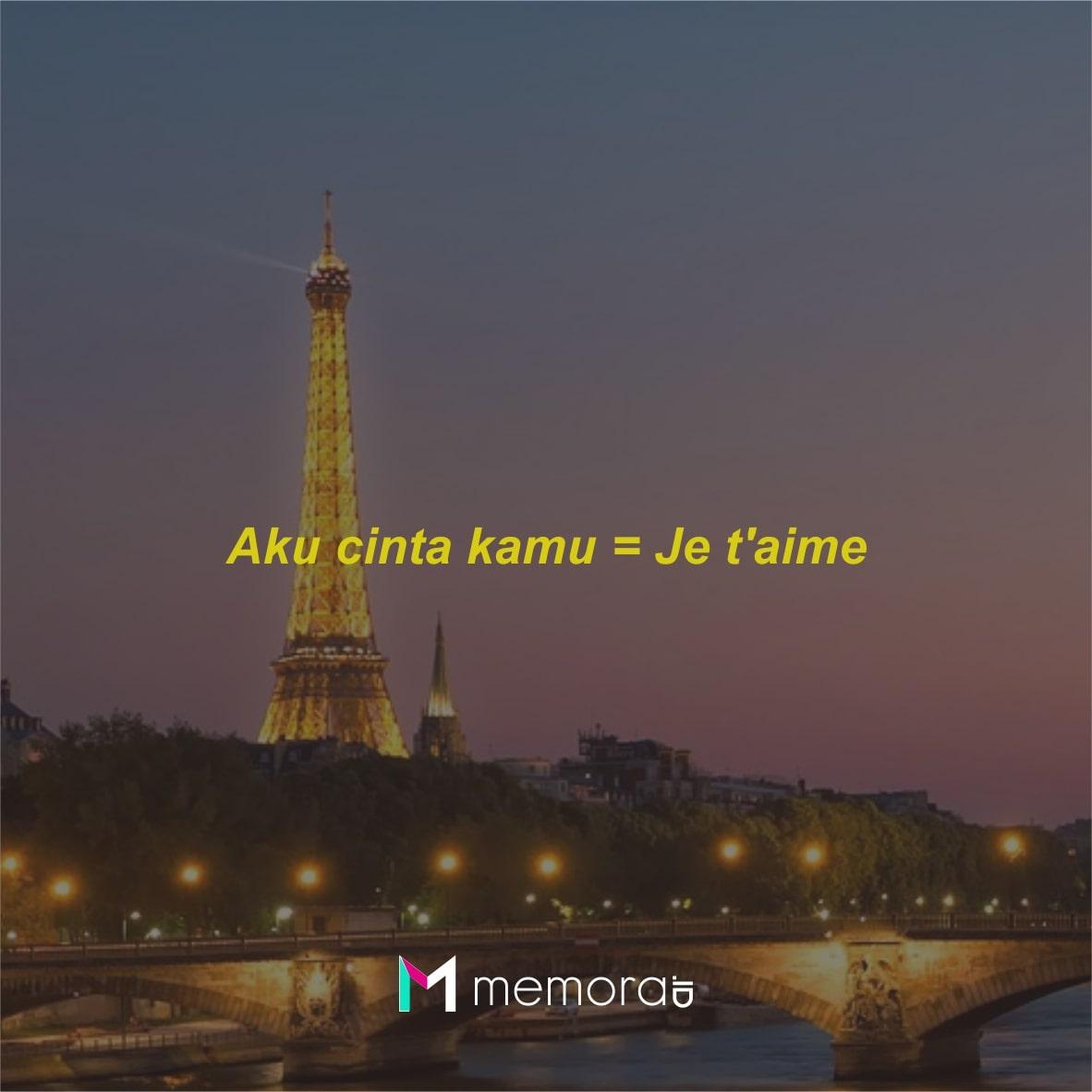 Kosa Kata Bahasa Prancis
