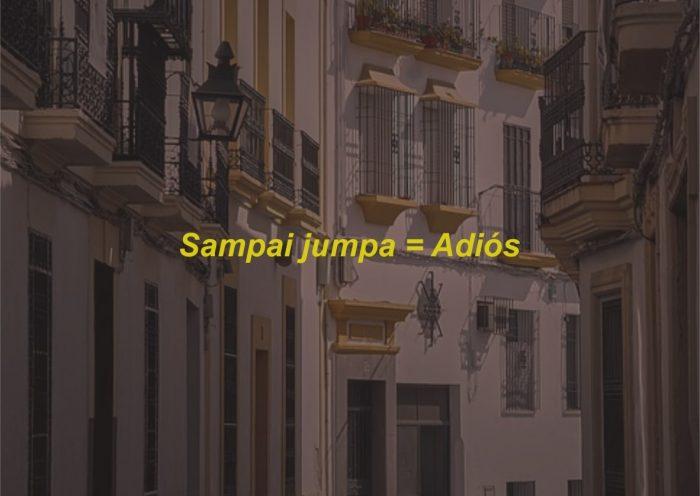 Kosa Kata Bahasa Spanyol