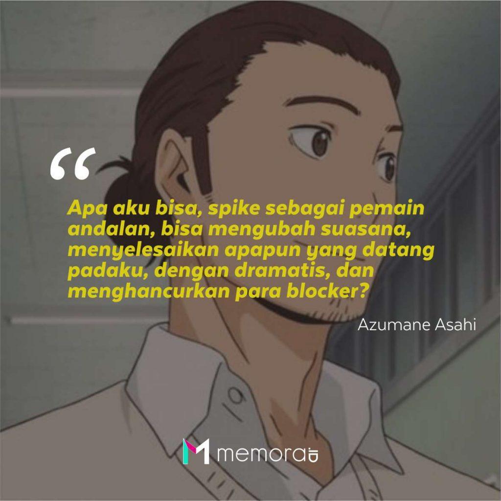 Kata-Kata Mutiara Azumane Asahi