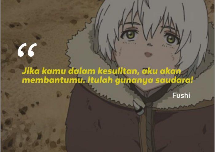 kata-kata mutiara Fumetsu No Anata e To Your Eternity
