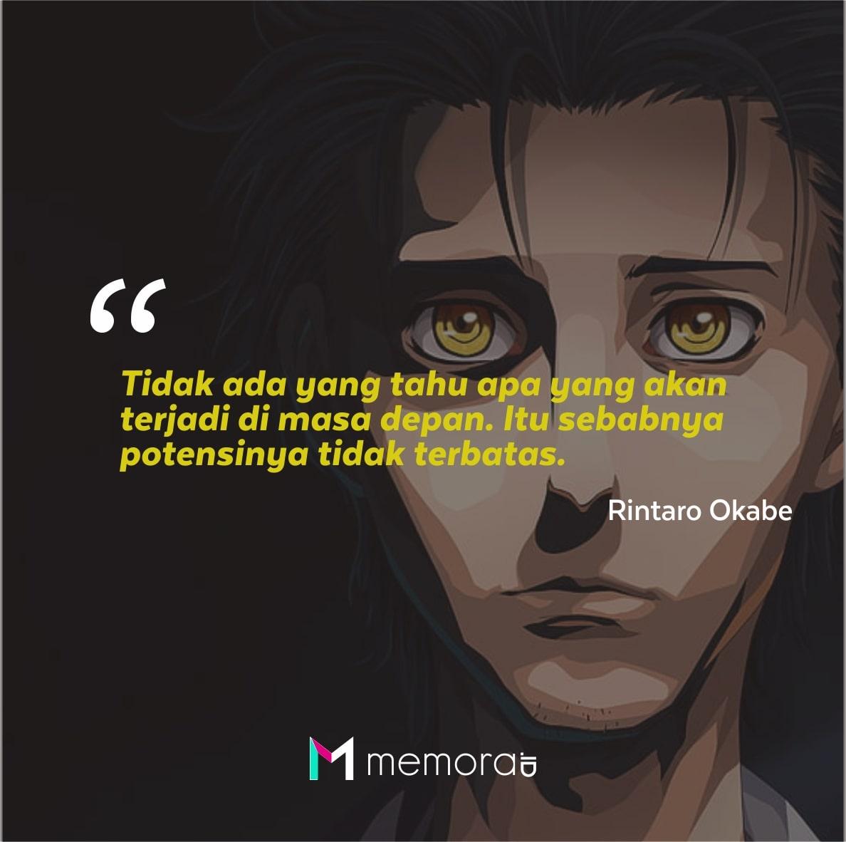 Kata-kata Mutiara Steins Gate