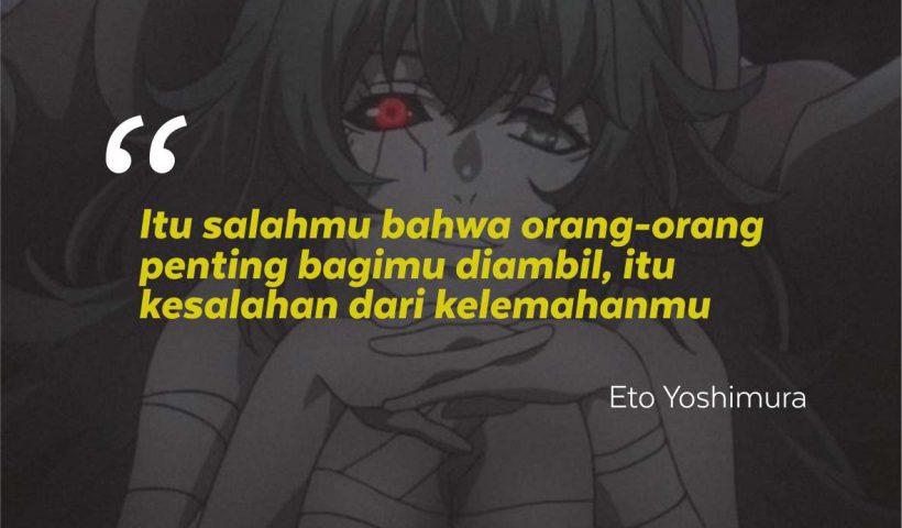 Kata-Kata Bijak Yoshimura Eto