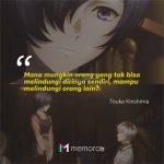 Kata-Kata Bijak Touka Kirishima