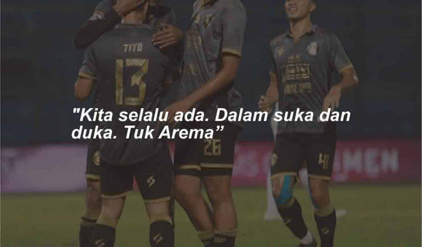 Kata-kata Mutiara Arema FC