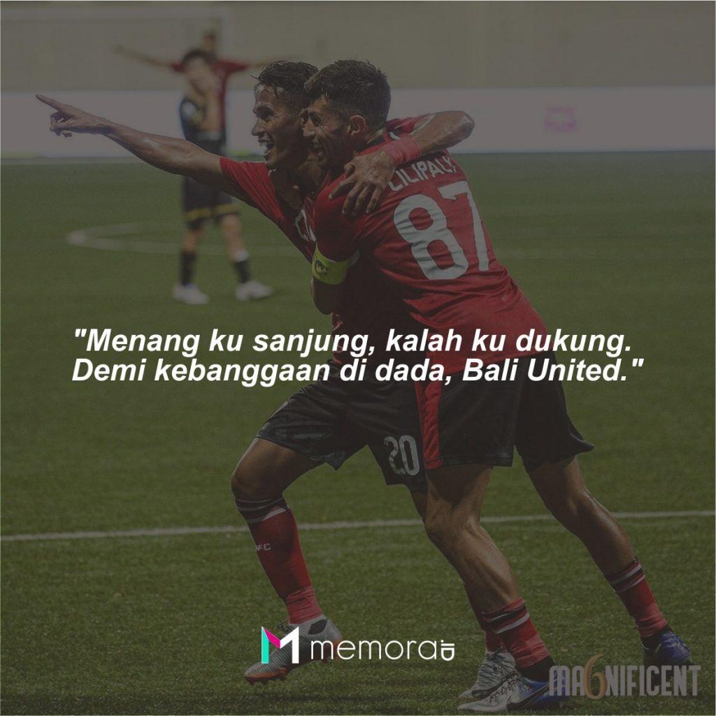 Kata-kata Mutiara Bali United