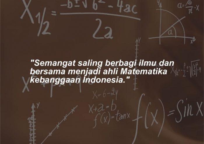 Kata-kata Mutiara Jurusan Matematika