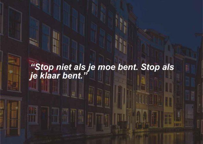 Caption, petuah dan pepatah bahasa Belanda