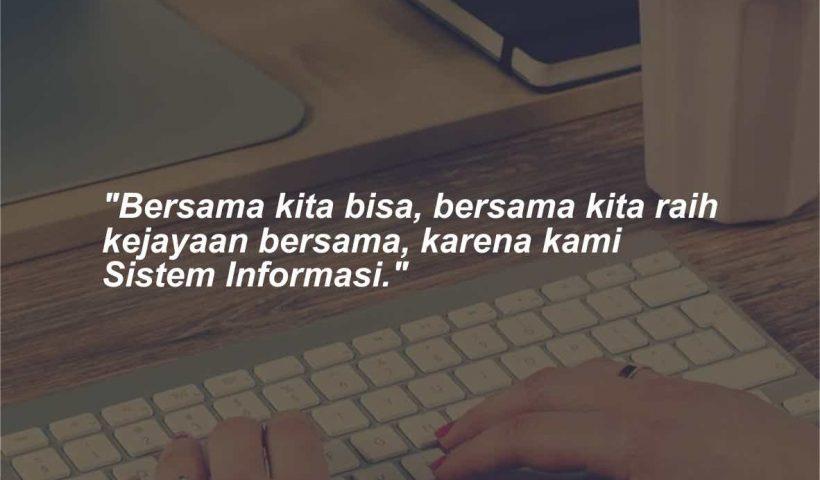 Kata-kata Mutiara Jurusan Sistem Informasi