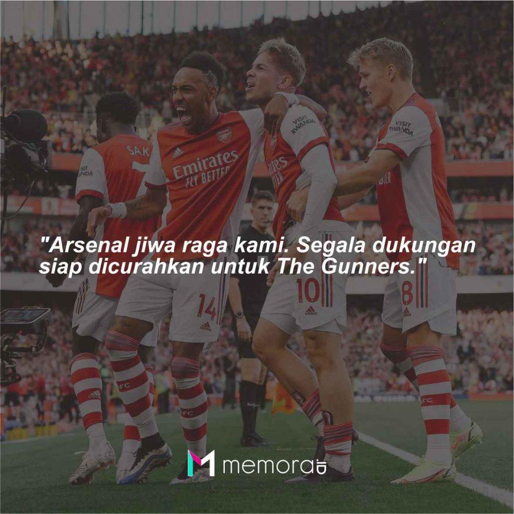 Quotes dan kata-kata bijak Arsenal