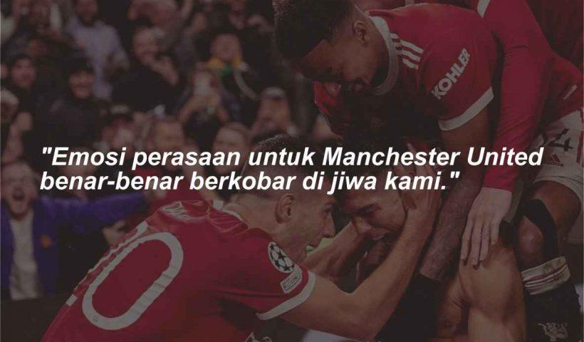 Quotes dan kata-kata bijak Manchester United